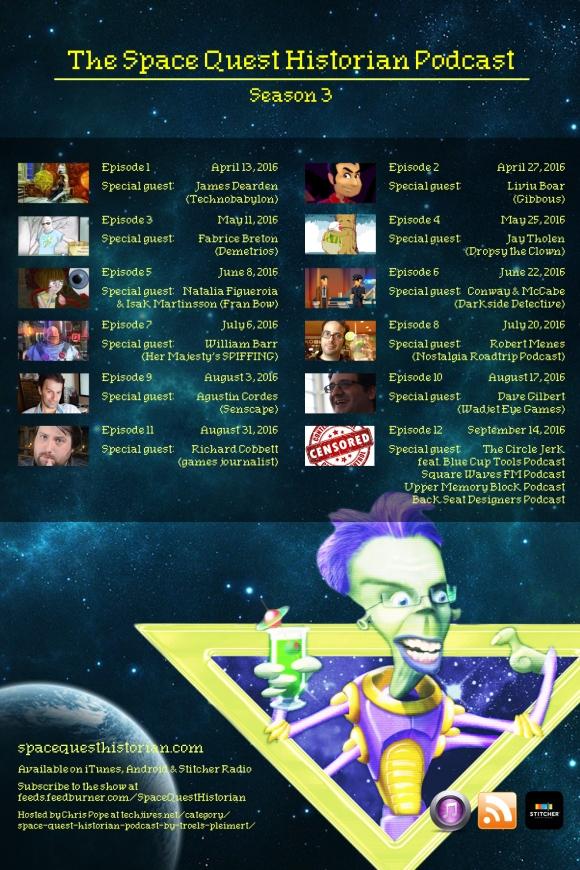Space Quest Historian Podcast Season 3