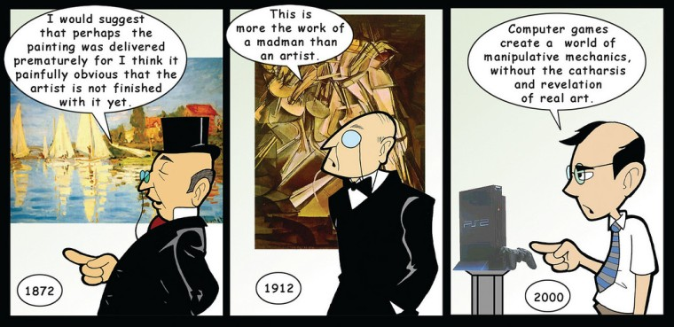 Penny Arcade drew this comic 16 years ago. Think about that for a second.
