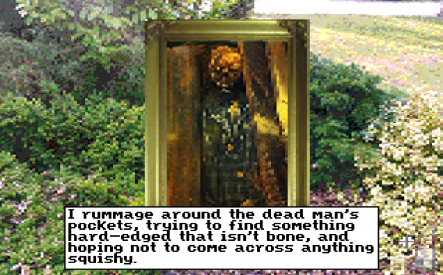 Also, grave robbing. Can't have too much grave robbing in indie games.