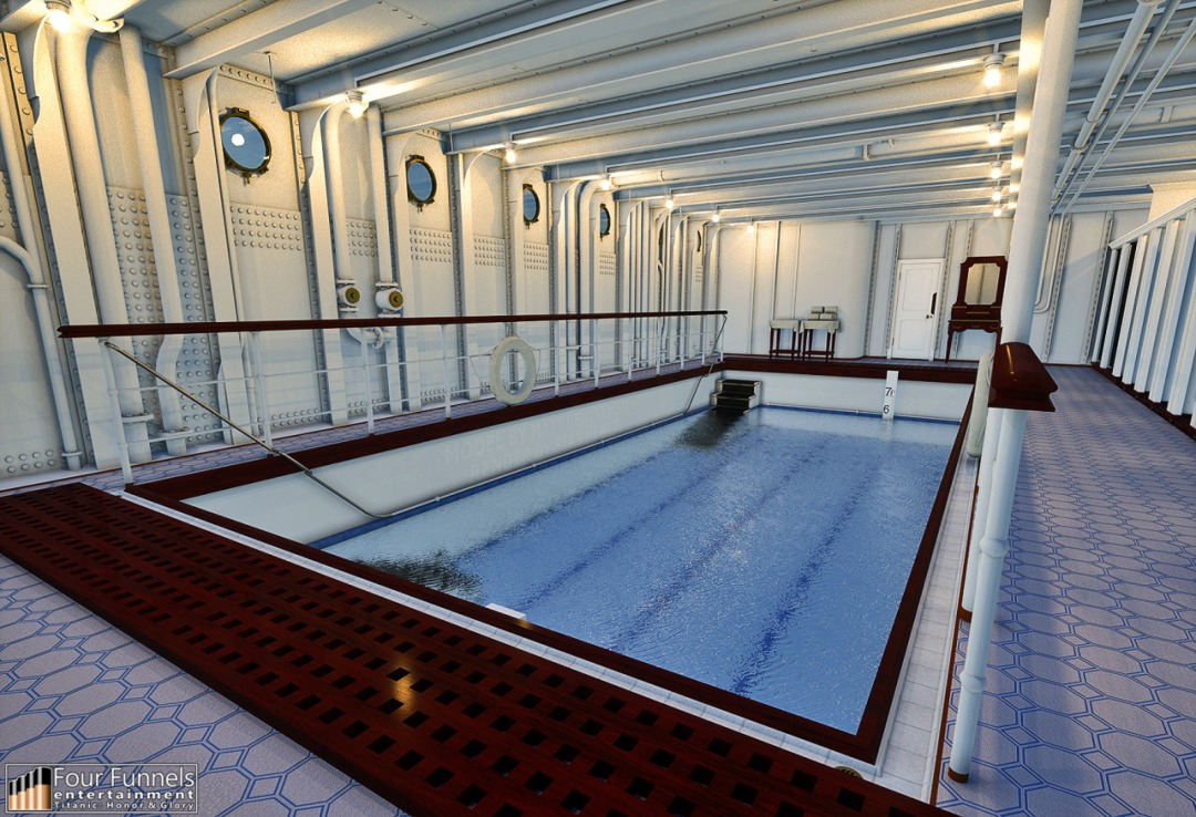 Guess you won't be needing this first class swimming pool soon.