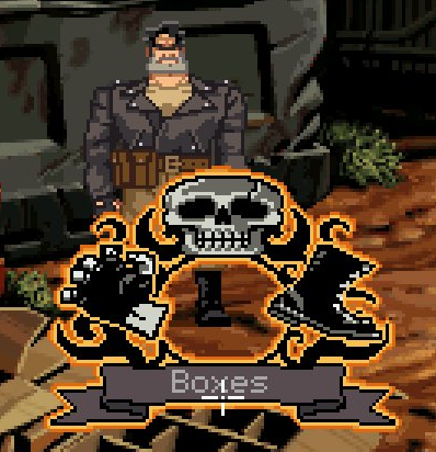 """Full Throttle famously had a """"kick"""" verb that was used to solve all of two puzzles in the game."""